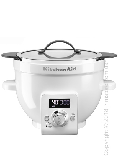 Чаша с подогревом KitchenAid 4.8 л, White