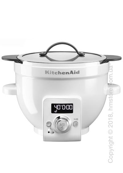 Чаша с подогревом KitchenAid 4.8 л, White