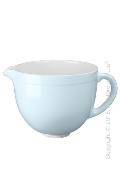 Чаша керамическая для миксера KitchenAid 4.8 л, Glacier Blue