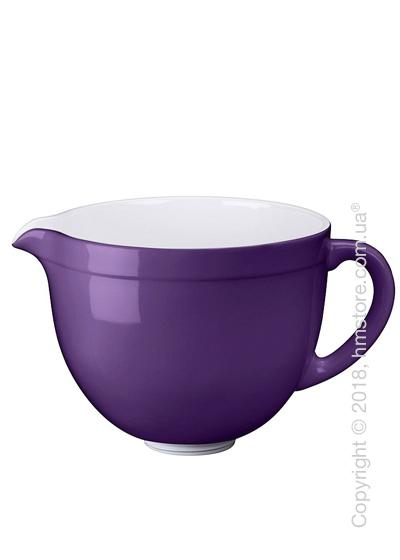 Чаша керамическая для миксера KitchenAid 4.8 л, Regal Purple