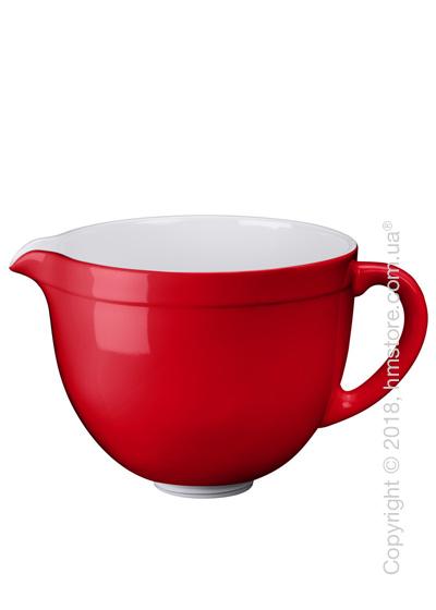 Чаша керамическая для миксера KitchenAid 4.8 л, Empire Red