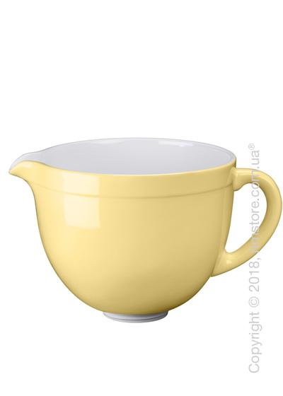 Чаша керамическая для миксера KitchenAid 4.8 л, Majestic Yellow