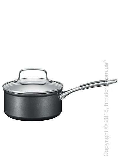 Сотейник с крышкой KitchenAid Saucepan серия Hard Anodized 16 см, Black