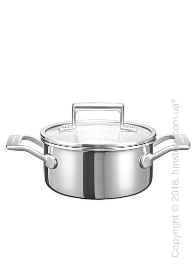 Кастрюля KitchenAid Sauce серия 3-Ply Stainless Steel 1.42 л