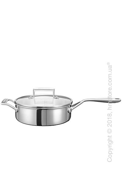 Сотейник с крышкой KitchenAid Saupe серия 3-Ply Stainless Steel 3.31 л
