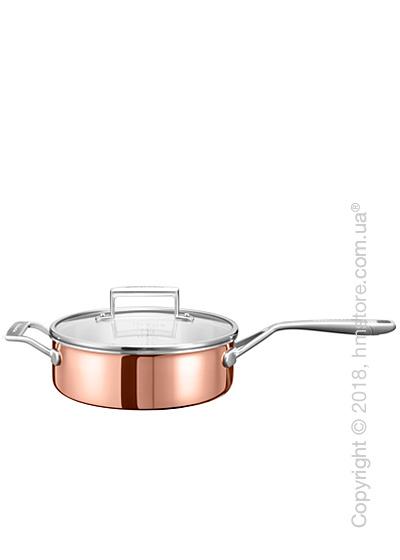 Сотейник с крышкой KitchenAid Saupe серия 3-Ply Copper 3.31 л