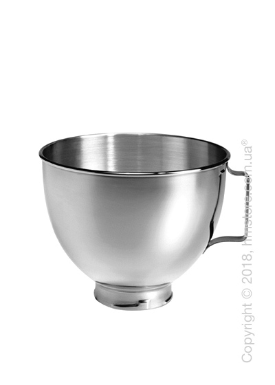 Чаша с ручкой для миксера KitchenAid 4.28 л, Stainless Steel