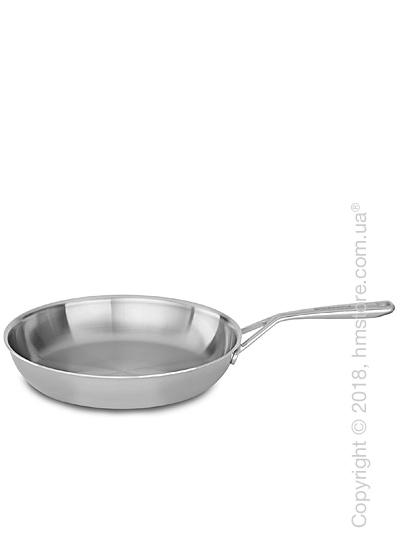 Сковорода KitchenAid Skillet серия 5-Ply Copper Core 25.4 см, Stainless Steel