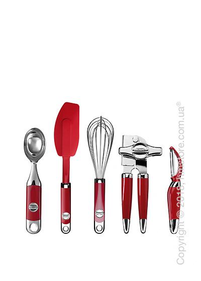 Набор кухонных аксессуаров KitchenAid, 5 предметов, Empire Red