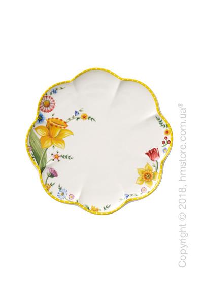 Тарелка десертная мелкая Villeroy & Boch коллекция Spring Awakening, 22 см