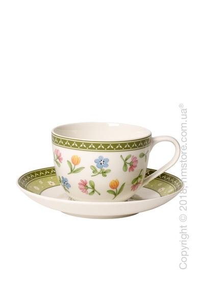 Чашка с блюдцем Villeroy & Boch коллекция Farmers Spring Flowers, 230 мл