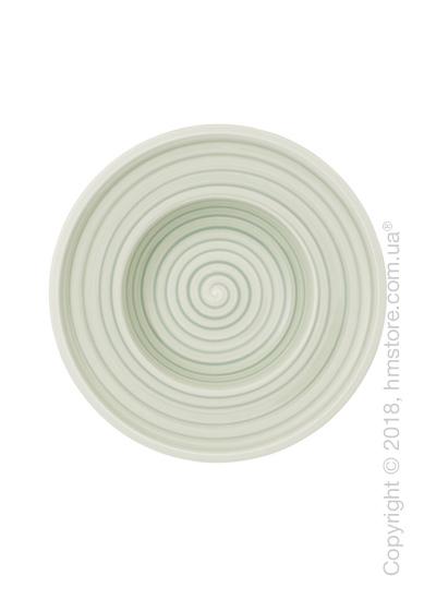 Тарелка столовая глубокая Villeroy & Boch коллекция Artesano Nature, Green