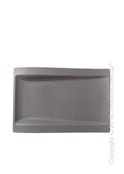 Блюдо для подачи Villeroy & Boch коллекция New Wave Stone, 37x25 см