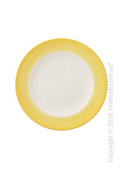 Тарелка десертная мелкая Villeroy & Boch коллекция Colourful Life, 21,5 см, Lemon Pie