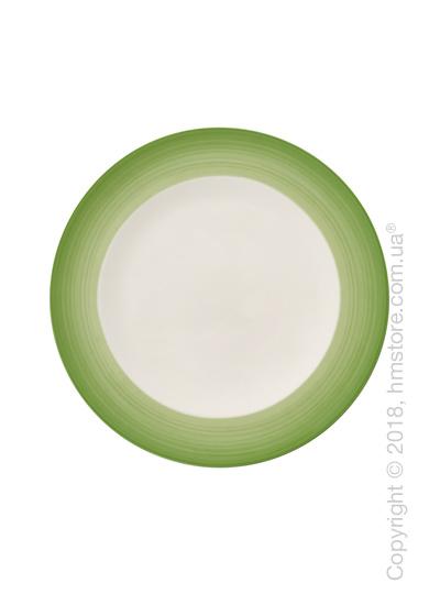 Тарелка столовая мелкая Villeroy & Boch коллекция Colourful Life, 27 см, Green Apple