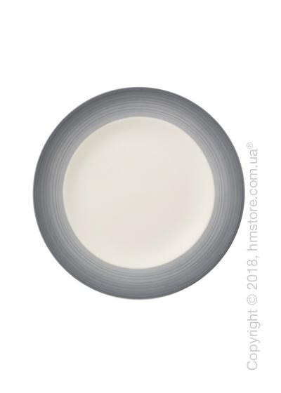 Тарелка десертная мелкая Villeroy & Boch коллекция Colourful Life, 21,5 см, Cosy Grey