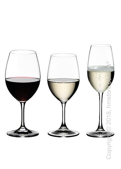 Набор бокалов для белого, красного и шампанского вин Riedel Ouverture New на 4 персоны, 12 предметов