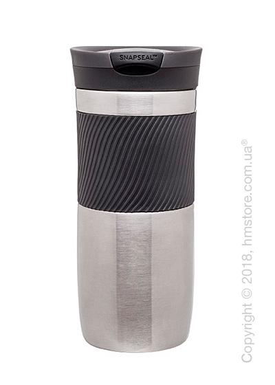Термокружка Contigo SnapSeal Byron Stainless Travel Mug, Stainless steel
