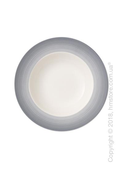 Тарелка столовая глубокая Villeroy & Boch коллекция Colourful Life, 25 см, Cosy Grey