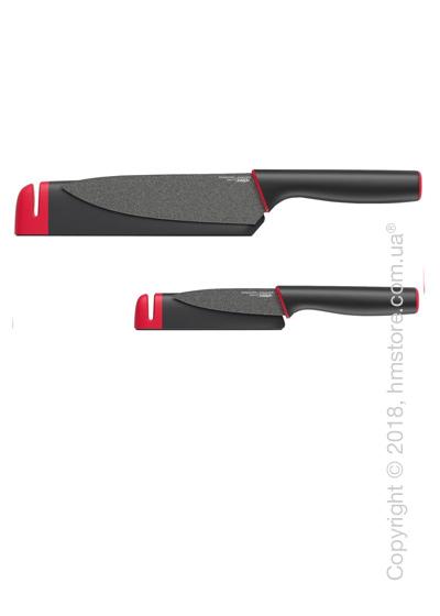 Набор ножей в чехле со встроенной точилкой Joseph Joseph Slice & Sharpen, 2 предмета