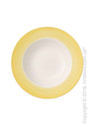 Тарелка столовая глубокая Villeroy & Boch коллекция Colourful Life, 25 см, Lemon Pie