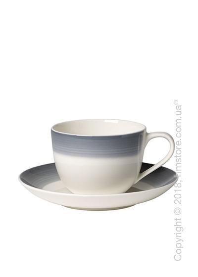 Чашка с блюдцем Villeroy & Boch коллекция Colourful Life, 230 мл, Cosy Grey