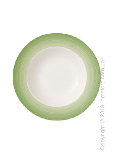 Тарелка столовая глубокая Villeroy & Boch коллекция Colourful Life, 25 см, Green Apple