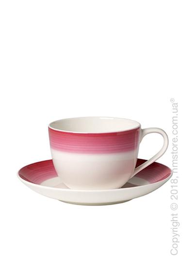 Чашка с блюдцем Villeroy & Boch коллекция Colourful Life, 230 мл, Berry Fantasy