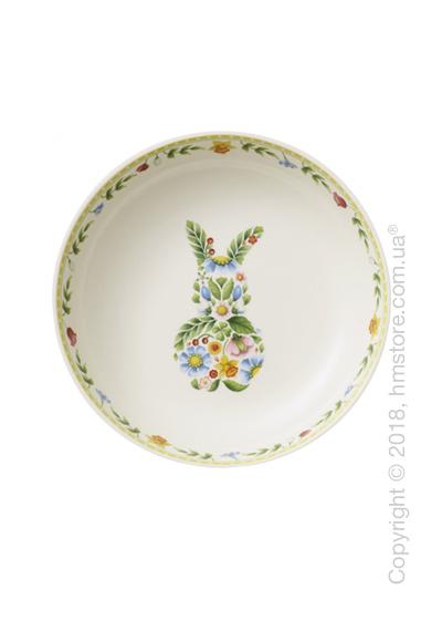 Блюдо для подачи Villeroy & Boch коллекция Spring Fantasy, 22 см, Bunny