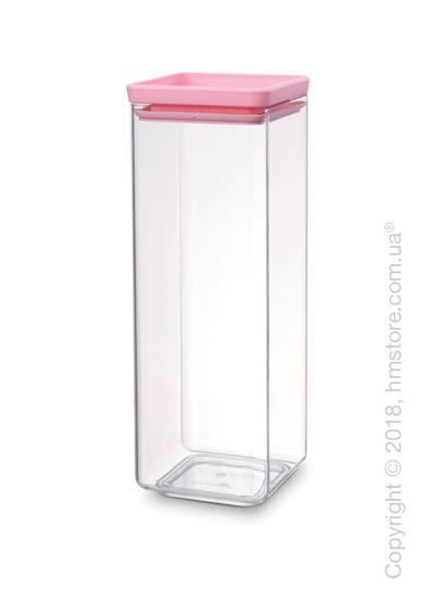 Емкость для хранения сыпучих продуктов Brabantia Square Canister  2,5 л, Pink