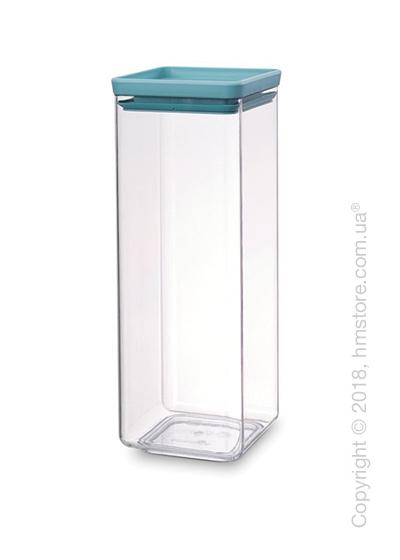 Емкость для хранения сыпучих продуктов Brabantia Square Canister  2,5 л, Mint