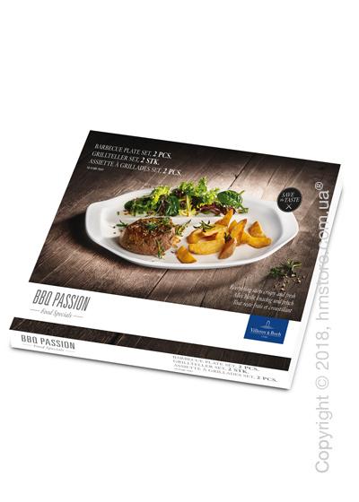 Набор тарелок для барбекю Villeroy & Boch коллекция BBQ Passion, 2 предмета