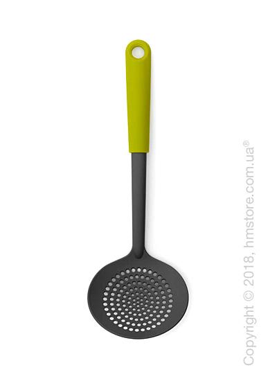 Шумовка Brabantia Strainer Spoon Tasty Colours, Green and Black