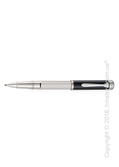 Ручка роллер Pelikan коллекция Majesty R7005, Silver-Black