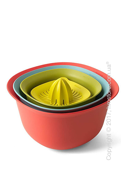 Набор емкостей для приготовления Brabantia Mixing Bowl Set Tasty Colours, 5 предметов