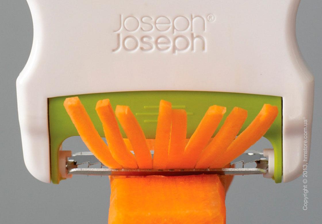 Овощечистка двусторонняя Joseph Joseph Switch, Зеленая