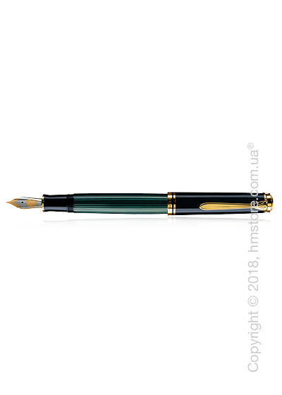 Ручка перьевая Pelikan коллекция Souveran M600, Black-Green