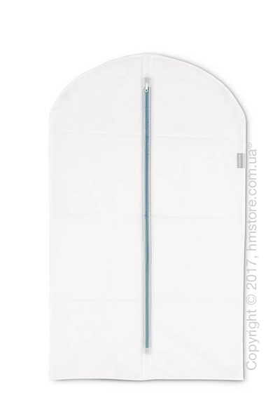 Набор чехлов для одежды Brabantia Protective Clothes Cover M Set of 2, White and Mint