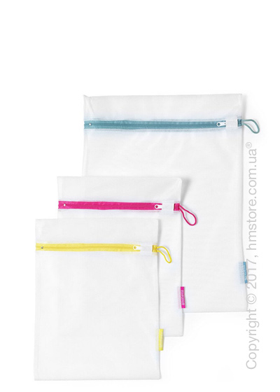 Набор мешков для стирки Brabantia Wash Bags Set of 3, White