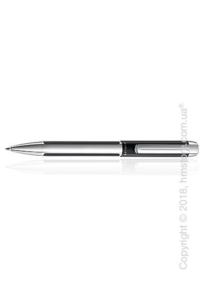 Ручка шариковая Pelikan коллекция Pura K40, Black-Silver