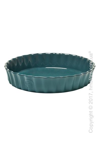 Форма для выпечки круглая 28 x 28 см Emile Henry Ovenware, Blue Flame