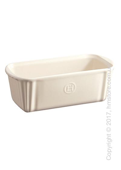 Форма для выпечки прямоугольная 23,5 х 10,5 см Emile Henry Bakeware, Clay
