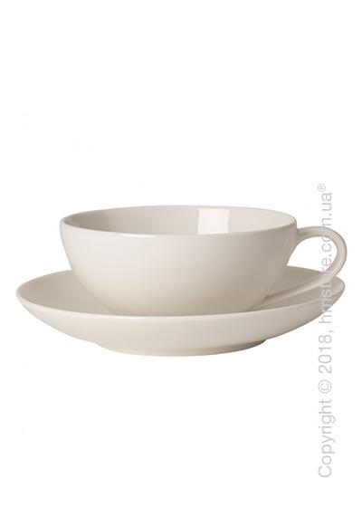 Чашка с блюдцем Villeroy & Boch коллекция For Me, 230 мл