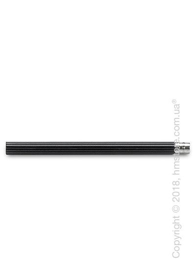 Комплект простых карандашей Graf von Faber-Castell 5 Pocket Pencils, Platinum-Plated, Black