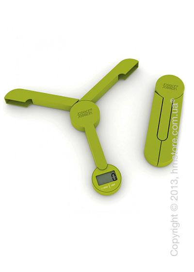 Весы раскладные Joseph Joseph TriScale, Зеленые