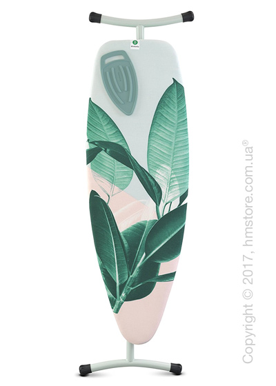 Гладильная доска Brabantia Silicone Heat Pad, Mint and Tropical Leaves