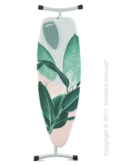 Гладильная доска Brabantia Silicone Heat Pad, Mint and Tropical Leaves