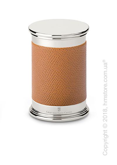 Точилка настольная Graf von Faber-Castell Sharpener Epsom, Cognac