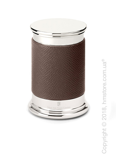 Точилка настольная Graf von Faber-Castell Sharpener Epsom, Dark Brown