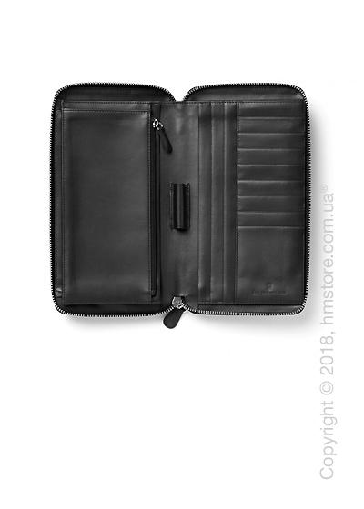 Футляр для путешественника Graf von Faber-Castell, Travel Wallet, Black Grained Leather